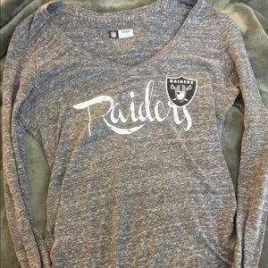 Brand New! NFL Oakland Raiders V-Neck Tee